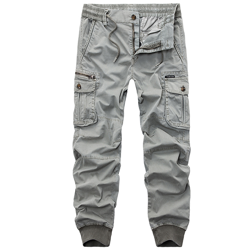 Cotton Pants Men Joggers Military Tactical Camouflage Army-Trousers Autumn Casual Mens