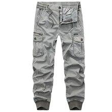 f9961a20 2018 новый осенний Камуфляжный Тактический Для мужчин брюки-карго Для  мужчин бегунов военные Повседневное хлопок
