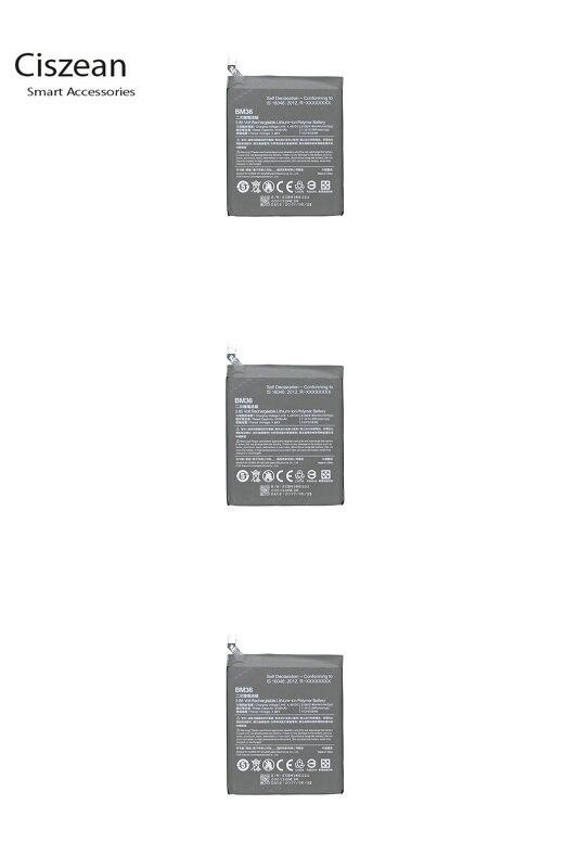 Cell-Phone-Battery Batterie Xiao Mi BM36 3180mah Smart Ciszean For 5s Mi5s Mobile High-Capacity