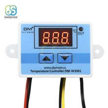 XH-W3001 W3001 DC 24V Temperature Controller Digital LED Thermometer Thermo Switch Probe Max 10A NTC10K