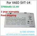 3760 mAh bateria do portátil para sony VGP-BPS33 SVT-15 SVT-14 da BPS33 11.4 v 3760 mAh bateria do portátil para VAIO 43wh SVT-14 da