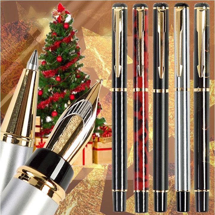 Fountain pen / RollerBall pens / Calligraphy nib pen The best gifts office&school stationery wholesale 5 pcs/lot  Free Shipping fountain pen m nib hero 1508 dragon clip signature pens the best gifts free shipping