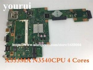 X553MA Laptop motherboard for ASUS X553MA X553M A553MA D553M F553MA K553M Test original mainboard N3530/N3540 4core CPU(China)