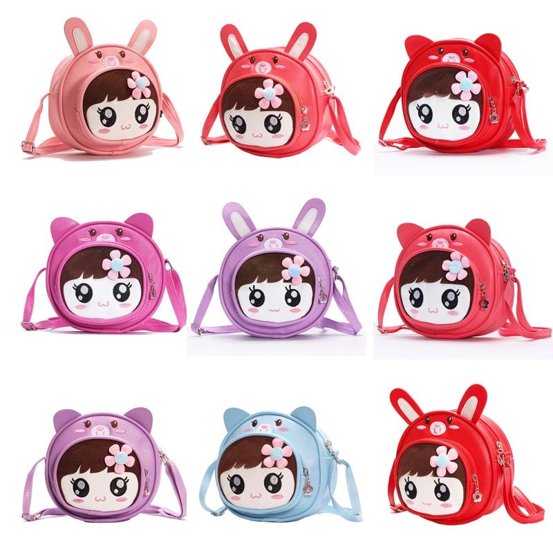 Mehke torbe za otroke torbica kovanec torba telefon ljubko otroške darilne prigrizke za otroke iz risanih igrač, otroška šolska torba za hrano