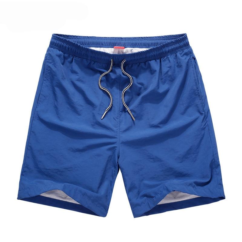 Mens   Shorts   2018 Quick Drying Beach   Board     Short   Men Bermuda Summer Casual   Shorts   Men Solid Polyester Men   Short   Homme Boardshorts