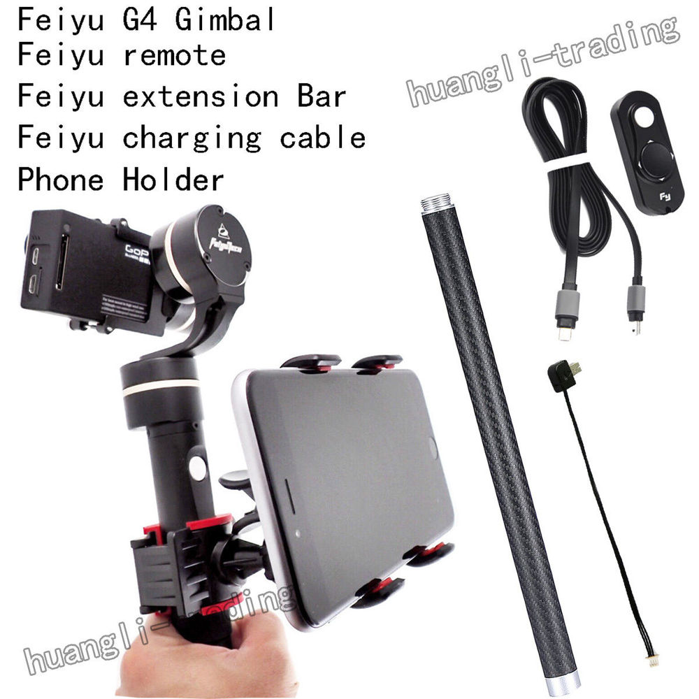 FeiYu FY-G4 3 Axis Handheld Gimbal Brushless Steadycam for Gopro Hero 3+ 3 4 feiyu fy g4 3 axis handheld gimbal brushless handle steadycam camera mount for gopro hero 3 3 4 compatible with gopro3 lcd