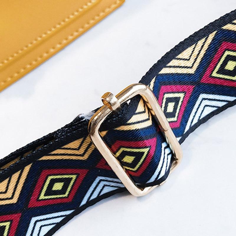New Women Fashion Width Shoulder Bags INS Popular Female Exquisite Solid Handbag Mini Flap Lady Travel Chains Crossbody SS3474 (2)