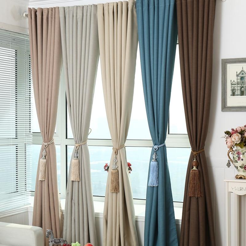 Moderne minimaliste rideaux pour salon beding salle - Rideaux salle a manger salon ...
