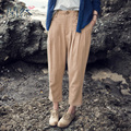 XianRan Women Harem Pants Autumn Pencil Pants Loose Linen Pants Plus Size High Quality Free Shipping