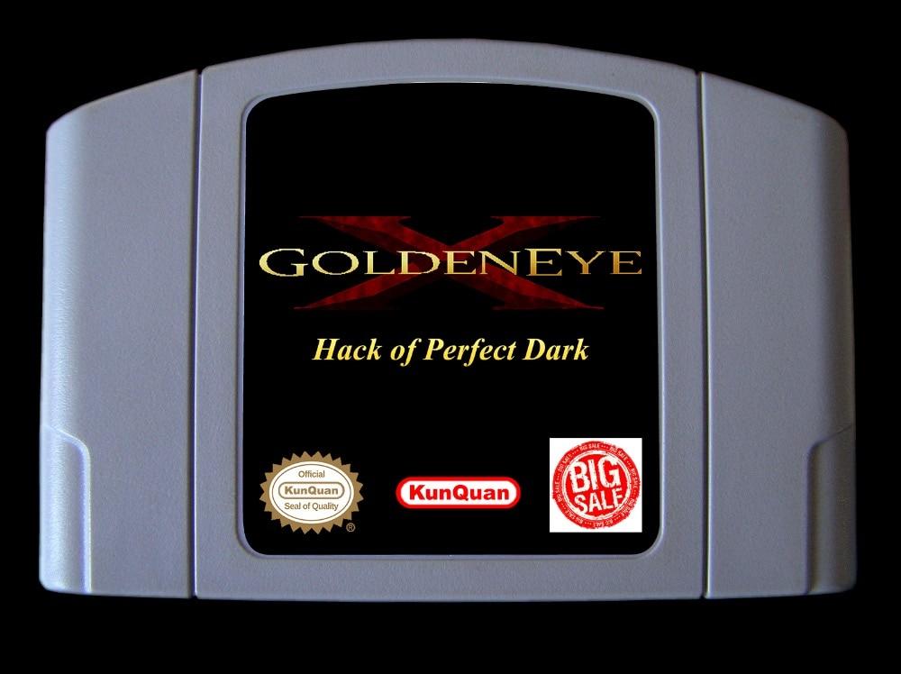 64bit game ** GoldenEye X 5D - Hack of Perfect Dark ( Hack Version!! USA Version!! ) hack