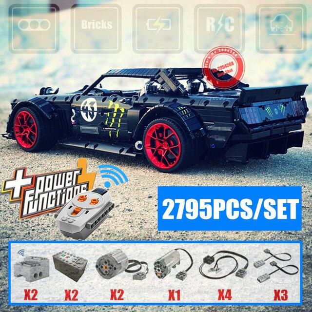 Zdalnie sterowany Mustang Kena Blocka z 2795 klocków za $208.96 / ~791zł