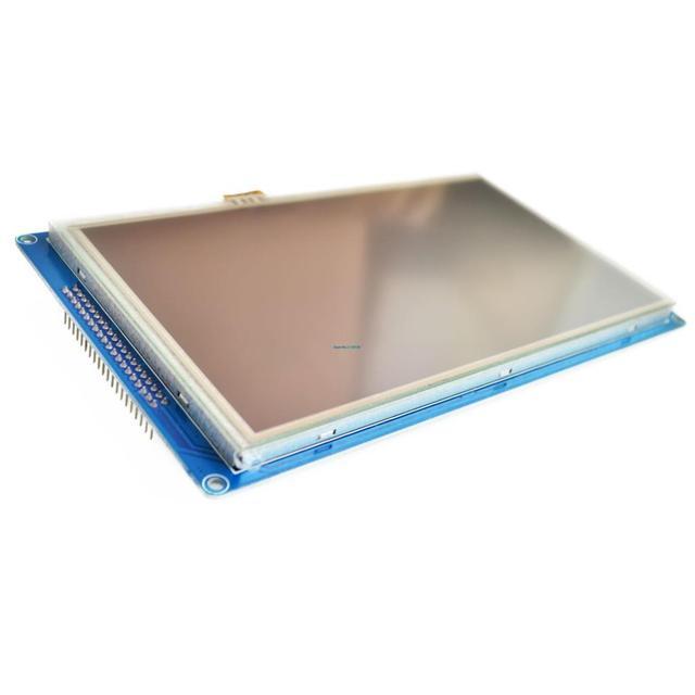 """Pantalla de módulo TFT LCD SSD1963 de 7 """"+ Pantalla de Panel táctil + adaptador de PCB incorporado"""