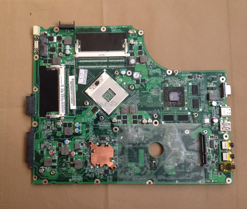 LAPTOP MOTHERBOARD for font b ACER b font 7745 7745G DA0ZYBMB8E0 INTEL HM55 HD5850 1GB GPUDDR3