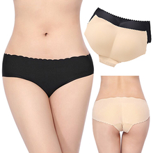 2016 New Fashion Lady Comfy Padded Seamless Butt Hip Enhancer Shaper Panties Underwear Underpants Good Quality