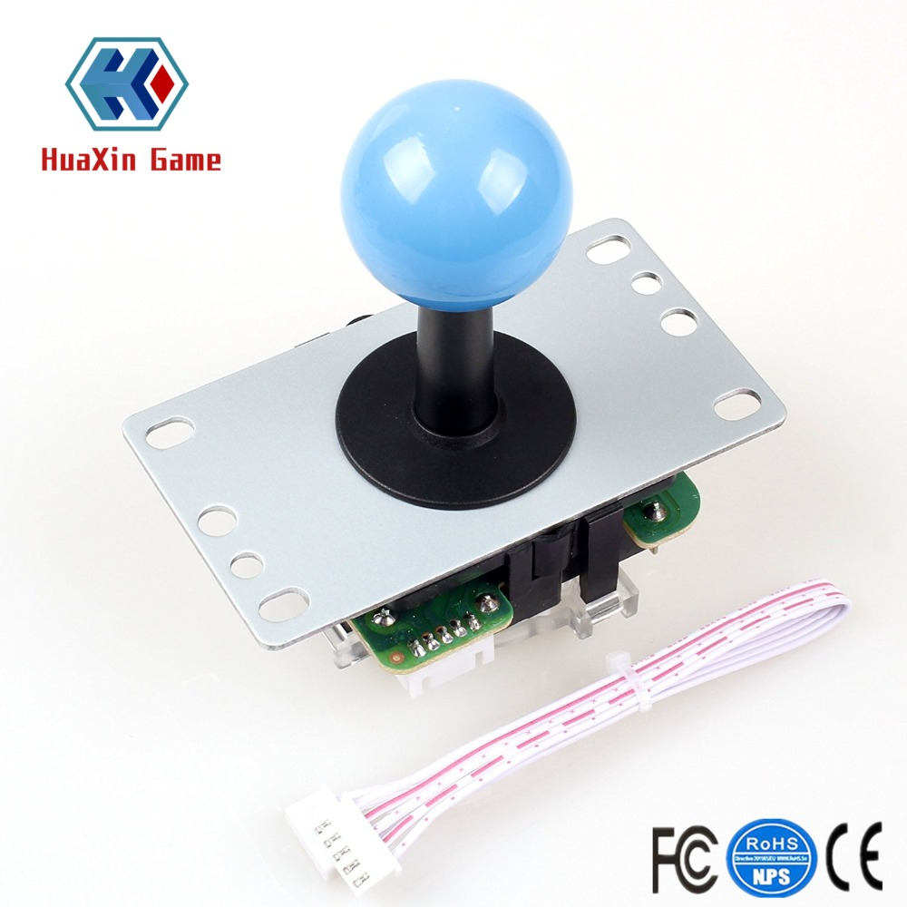 Zero Delay USB Encoder To PC Controllers 5Pin Joystick Handle + Arcade Push Buttons For Fighting Game Mame KOF Raspberry Pi