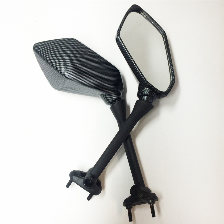 Aftermarket free shipping motorcycle parts Rear Oem Style Mirrors For Kawasaki Ninja 650R 400R Z1000Sx Er6F Er 6F Carbon Fiber