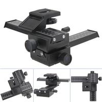 4 Way Macro Shot Focusing Rail Metal Slider For DSLR Camera Adjustable Photography Rail Slide System