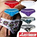 Hot Sale Sexy Boxers Men Cotton Fashion Underwear Mens Male Boy Gay Underpants Calzoncillos Hombre Slips Wholesale 2pc/Lot