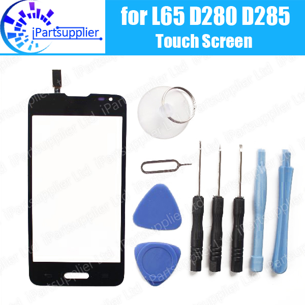100% Original for LG Series III L65 D280 D285 touch screen digitizer touch panel touchscreen,Black or white  цены