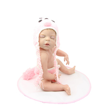 "Collectible Reborn Baby Dolls Lifelike 22""Full Silicone Baby Reborns Lifelike Princess Girl Doll Free Bottle Magnet Pacifier"