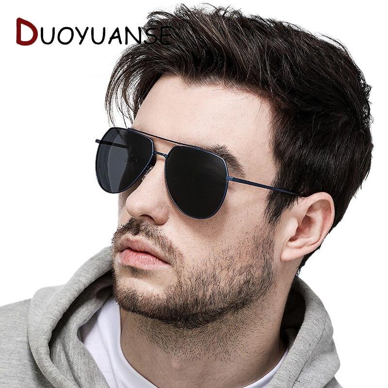 DUOYUANSE Fishing High quality Polarized Sunglases Driver Driving Sun Glasses Men aluminium magnesium alloy outdoors