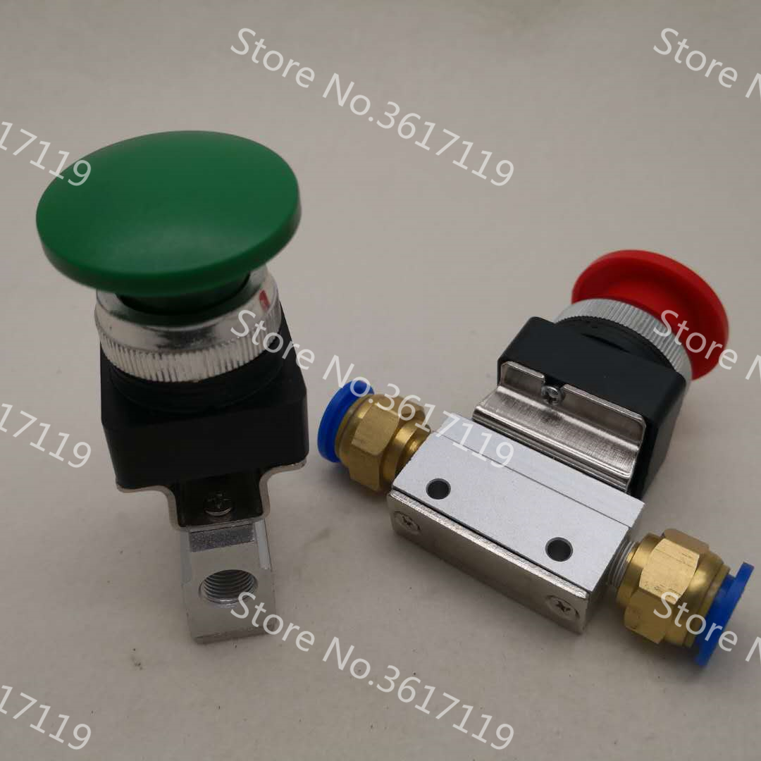 10PCS/LOT MOV-03A Large Round Button Two Position Three Way Mechanical Valve dsep29 03a