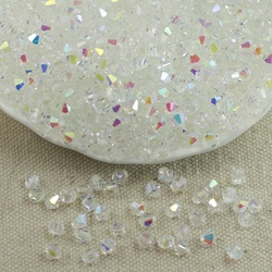 Toptan 4 MM 100 adet Avusturya kristal boncuklar Spacer Cam Boncuk DIY Küpe Bilezik Gerdanlık Kolye Takı Yapımı