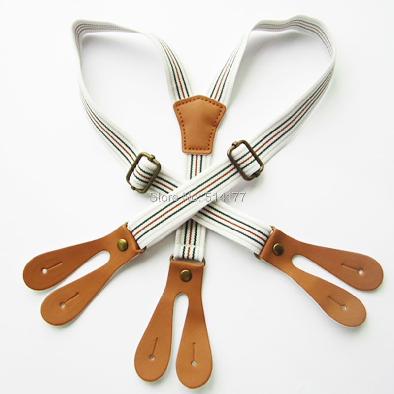 New Design Kids button Suspenders children Elastic Braces children Suspenders Apparel Accessories 5pcs/lot
