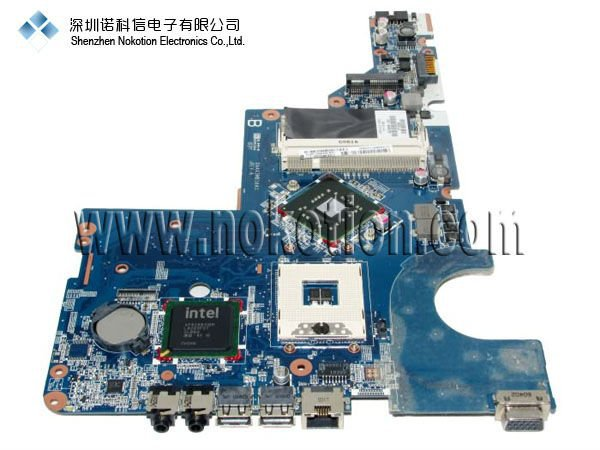 все цены на NOKOTION 623909-001 Laptop motherboard for HP G56 INTEL/DDR2/ GOOD Quality 100test free shipping warranty 60 days онлайн