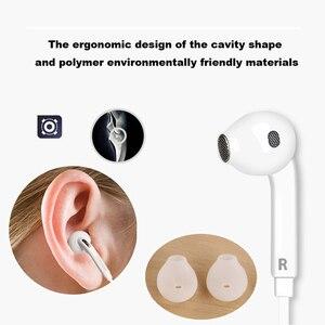 Image 3 - Samsung EO EG920BW fones de ouvido com fio preto/branco, com microfone 1.2m estéreo, esportivo, para samsung s9 s9plus com caixa de varejo