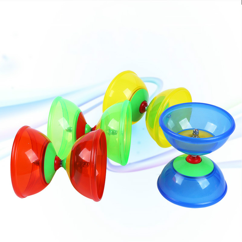 Classic Toys One Bearing High Performance Soft Glue Diabolo Chinese Yoyo with Handsticks Strings Juggling Sports Toys