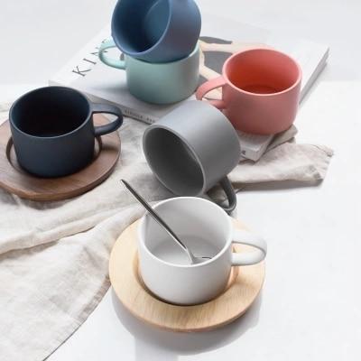 Creative Mini de couleur de sucrerie simple petit frais café tasse en céramique tasse amoureux tasse tasse givrée