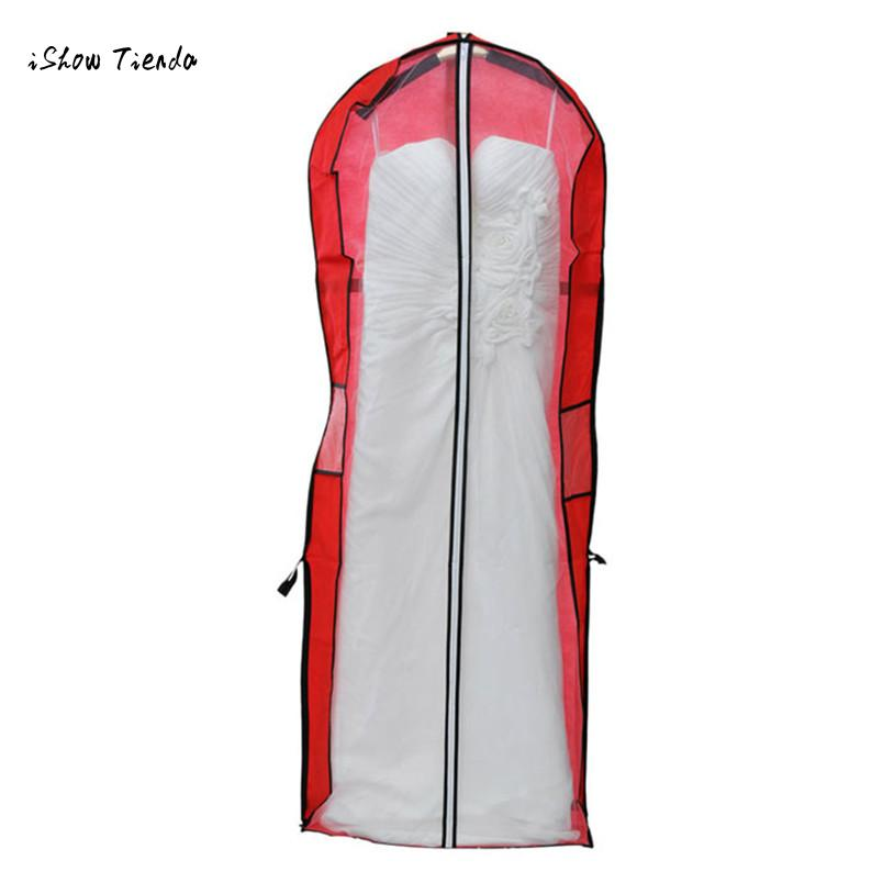 Wedding Gown Garment Bag: ISHOWTIENDA New Storage Bag Cover Clothes Protector Case
