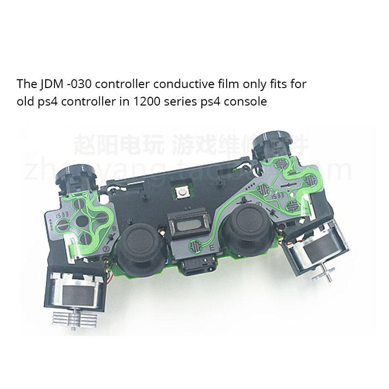 2sets JDM 030 PS4 Controller Conductive Film Ribbon Flex