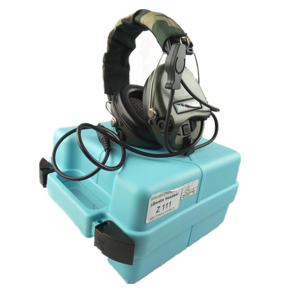 Z Tactical Military Headset Hoofdtelefoon Airsoft Radio Comtac IPSC - Jacht - Foto 5