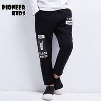 Pioneer Kids Brand 4 16Y Children Boy Cargo Pants Winter Autumn Big Boy Leisure Large Cotton
