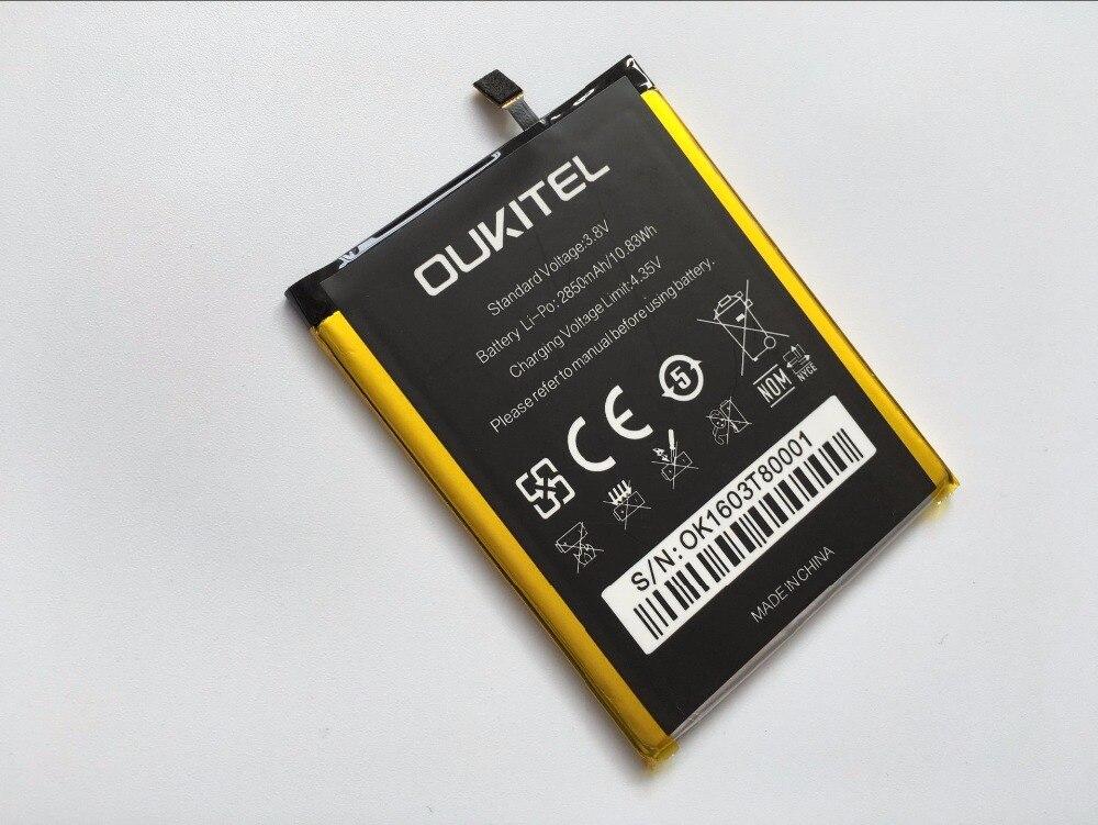 imágenes para Oukitel U8 Batería Original de Alta Capacidad de 2850 mAh Reemplazo de Batería de Respaldo para Oukitel U8 Teléfono Inteligente Con