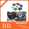 10 PCS M6x20 Car Styling Universal Modificação JDM Adesivo Adesivos Fender Arruela Parafusos Da Placa de Licença Acessórios Auto