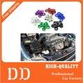 10 UNIDS M6x20 Car Styling Modificación Universal JDM Pegatina Pegatinas Fender Lavadora Tornillos de la Placa de Accesorios de Auto
