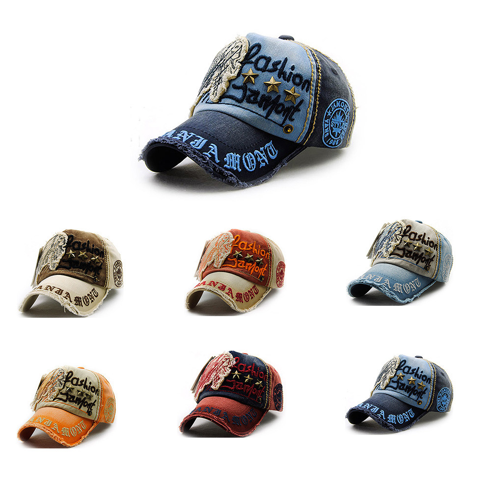 Men's New Baseball hats Animal Embroidery High Quality Comfortable Breathable Adjustable Women's Universal caps for man7.11  0.2(China)