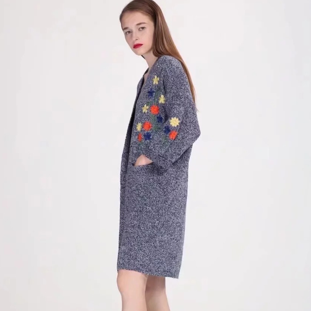 Aliexpress.com : Buy TC Embroidery Women Sweaters Winter Warm big ...