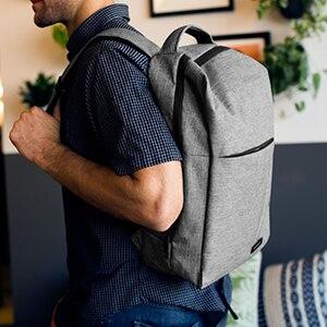 BAGSMART Nouveau sac à dos pour ordinateur portable Multifonction Sac À Dos 15.6 Pouces sac à dos pour ordinateur portable pour Femmes Hommes cartable sac à dos pour mochila mâle - 4