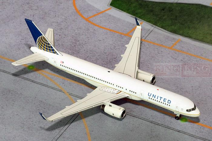GJUAL1395 GeminiJets United Airlines 1:400 B757-200W commercial jetliners plane model hobby