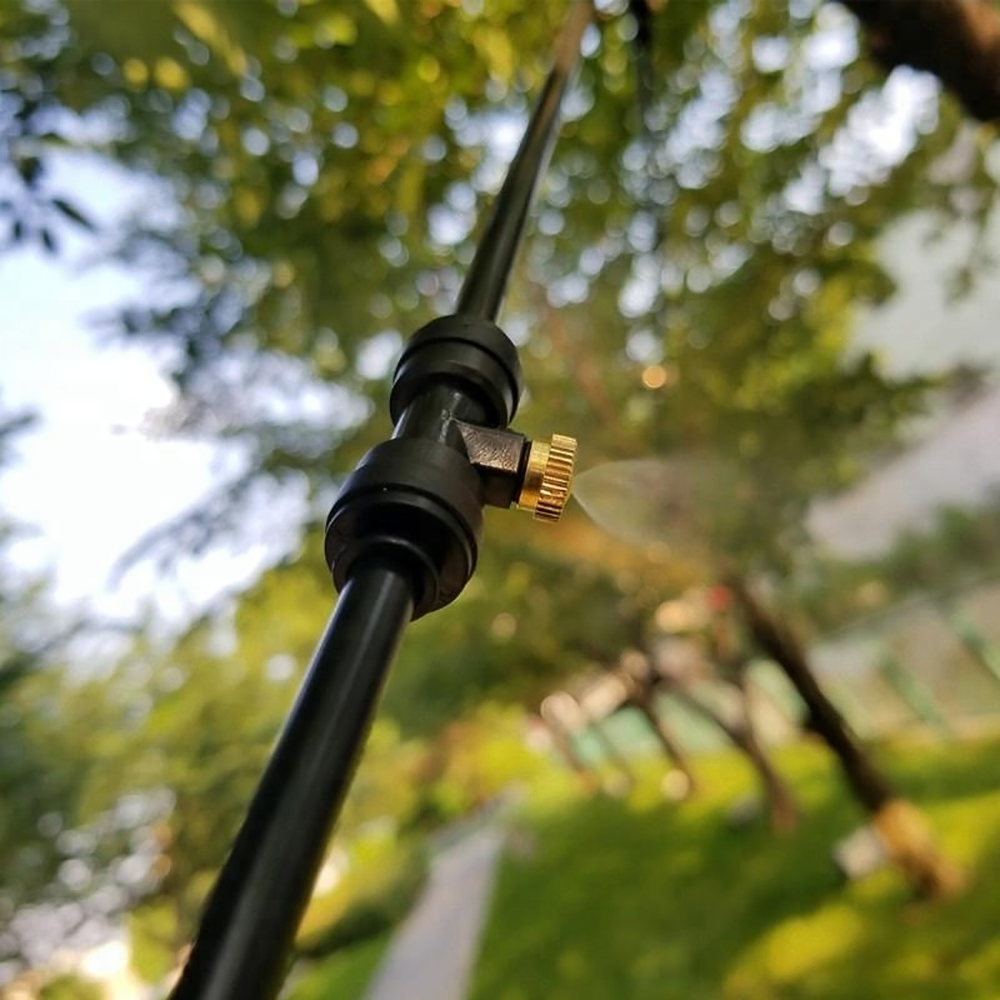 HTB14c83eQWE3KVjSZSyq6xocXXay - Water Misting Cooling System Kit summer Sprinkler brass Nozzle Outdoor Garden