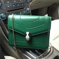 vintage bag chain women's handbag genuine leather bag mini brief one shoulder handbag cross-body bag small