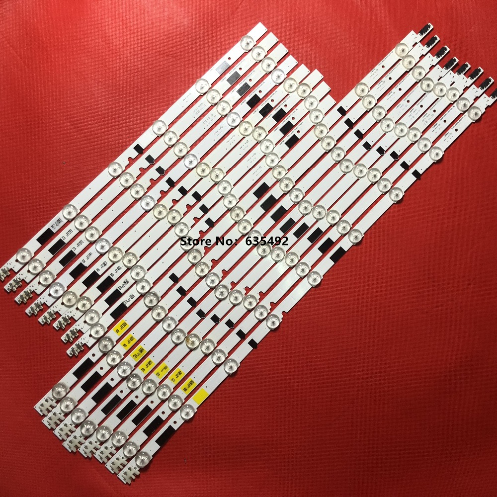 1SET = 16 PIÈCES Bande LED SAMSUNG 2013SVS46F R 6 REV1.9 130212 Pour UA46F6420 UN46F5000 UN46F6800 UE46F5000 UE46F6400 CY-HF460CSLV1H 1