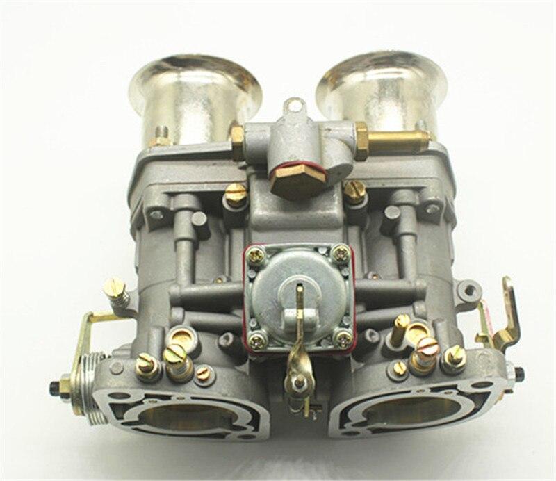 2 pcs/lot qualité nouveau 44 Idf Oem carburateur + remplacement des cornes d'air pour Solex Dellorto Weber ajustement Opala Bug/bettle/vw Dellorto