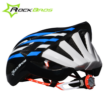 ROCKBROS Cycling Helmet Ultralight Night Riding Bicycle Helmet With Tail Light In-mold For MTB Road Bike Biking Casco Ciclismo