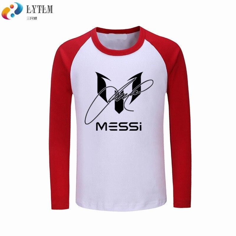b9b3a0036 LYTLM Messi Tshirt Kids Brand Baby Boy Clothing Autumn Infant Girl Clothing  Boys T Shirt Funny Boys T Shirts Lionel Messi Kids