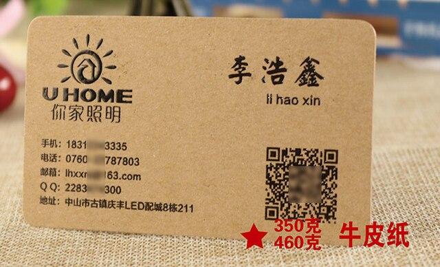 Diffrents Types De Papier Matriel Montrant Limage Cartes Visite